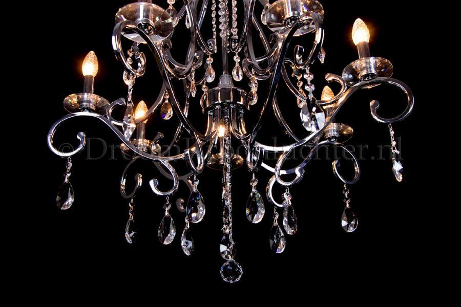 Crystal Chandelier Clarance 7 light (chrome)