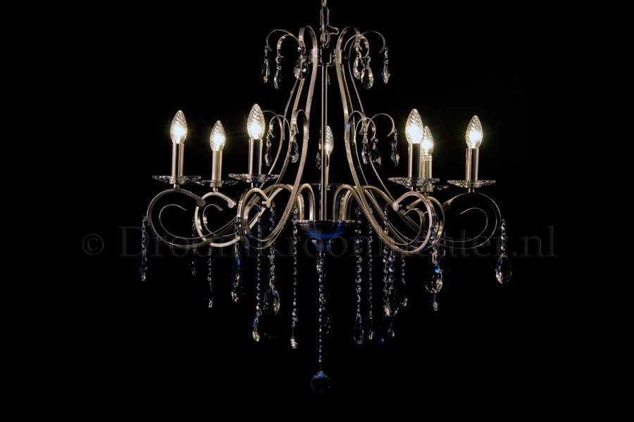 Stijlvol Kristallen Hanglampen : Kristallen kroonluchter clarance lichts variant kristal mat