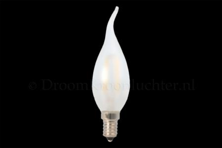 LED Candle E14 frosted tip 1.8 Watt 2500K (dimmable)
