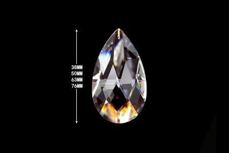 Crystal Pendant Almond
