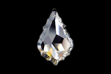 Crystal Pendant Leaf