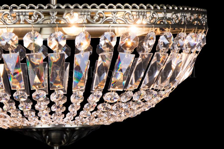 Ceiling light Ruby 6 light 47 cm bronze