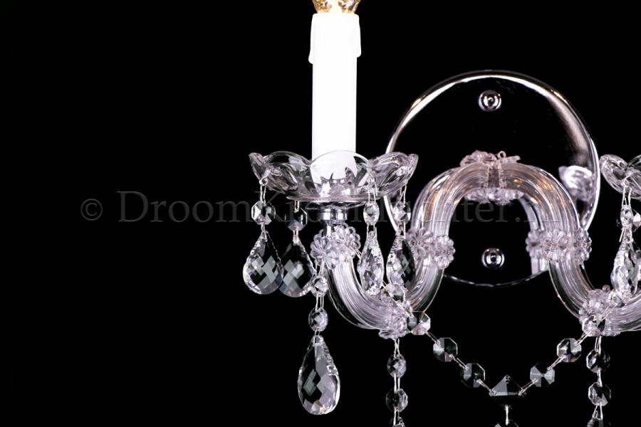 Crystal Wall light Maria Theresa 2 light (chrome)
