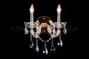 Cystal Wall light Maria Theresa 2 light crystal (gold) LUXURY Edition
