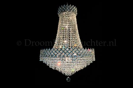 Chandelier Amy 10 light (Crystal/Chrome) - Ø23.6 Inch