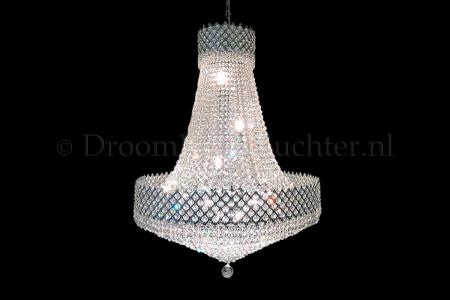 Chandelier Amy 13 light (Crystal/Chrome) - Ø31.5 Inch
