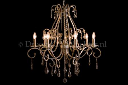 Crystal Chandelier Clarance 7 light (matt nickel)