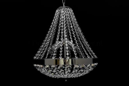 Empire chandelier Impero 3 light 40cm (chrome)
