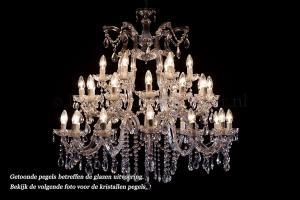 Crystal Chandelier Maria Theresa 30 light (chrome)
