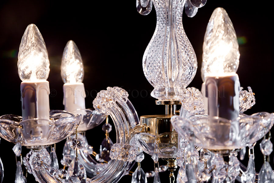Chandelier Maria Theresa in gold 5 lights - Ø45cm