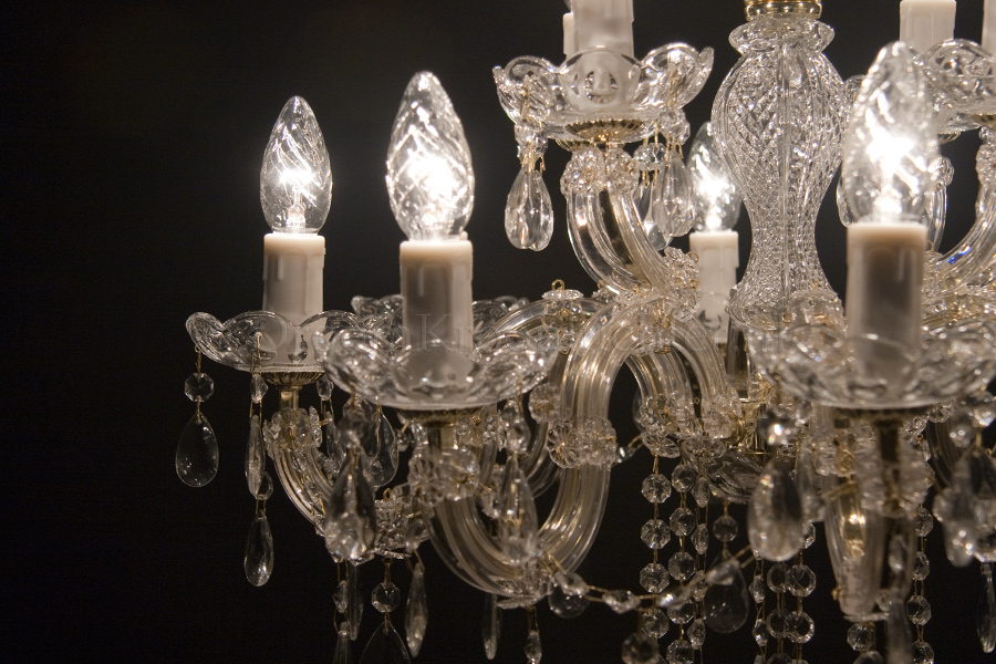 Chandelier Maria Theresa in gold 12 lights - Ø60cm