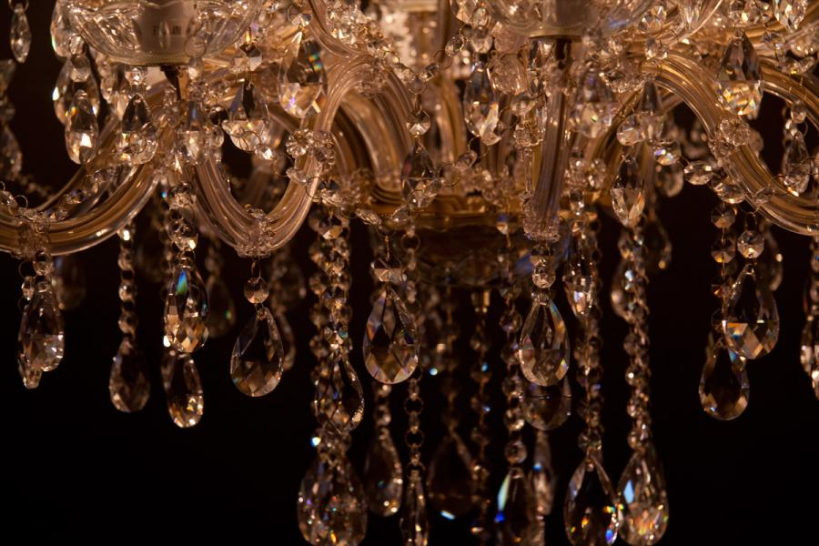 Crystal Chandelier Maria Theresa 30 light (gold)