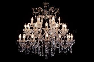 Chandelier Maria Theresa 30 light (chrome)