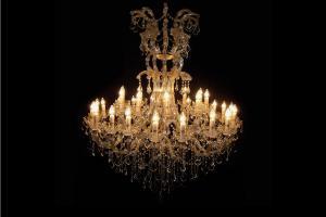Crystal Chandelier Maria Theresa 30 light multi-kleuren 120cm