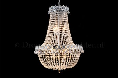 Empire chandelier Royale12 light 60 cm crystal silver