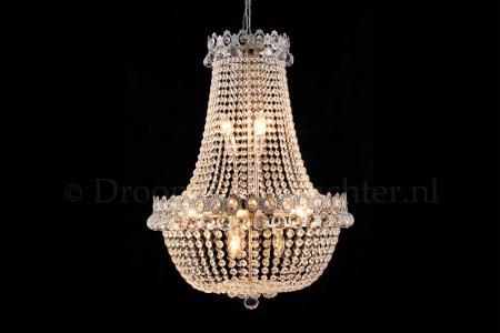 Empire chandelier Royale 12 light 60 cm multi-colour